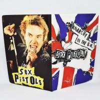 "Обложка на паспорт ""Sex Pistols"""