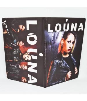 "Обложка на паспорт ""Louna"""