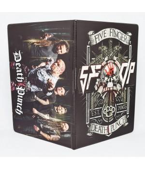 """Обложка на паспорт """"Five Finger Death Punch"""""""