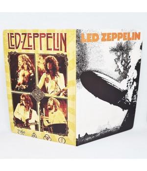 """Обложка на паспорт """"Led Zeppelin"""""""