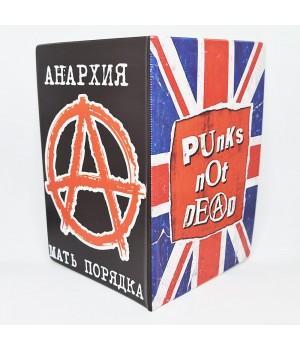 """Обложка на паспорт """"Punks Not Dead"""""""