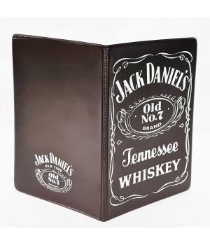 """Обложка на паспорт """"Jack Daniel's"""""""