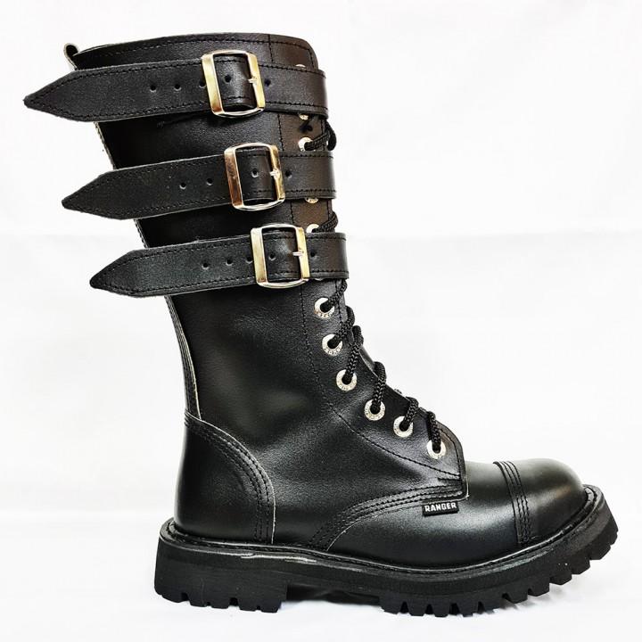 """Ботинки Ranger """"3 Belt"""" 12 блочек (1129) (под заказ)"""