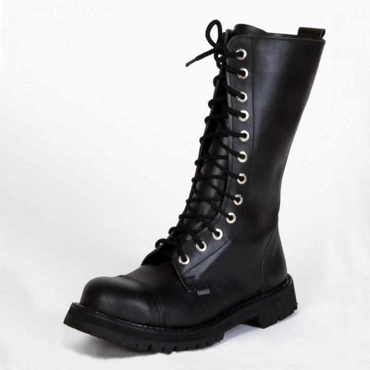 Ботинки Ranger черные 12 блочек (1128) (под заказ)