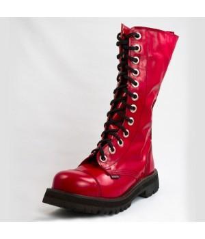 Ботинки Ranger красные лакированные 12 блочек