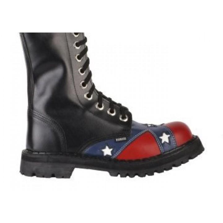 """Ботинки Ranger """"Black Confederation"""" 16 блочек (3596) (под заказ)"""