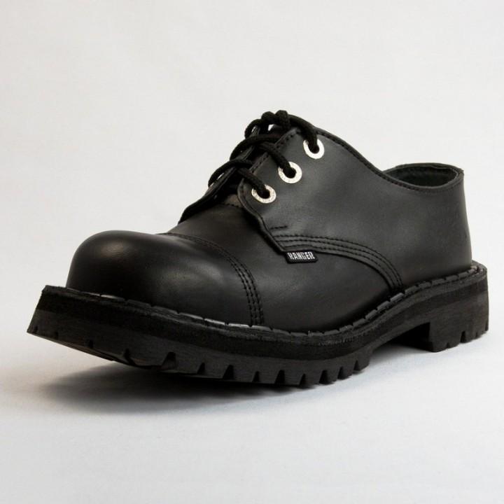 Полуботинки Ranger черные (1117) (под заказ)