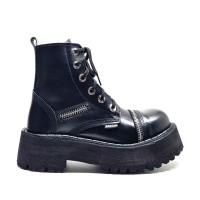 "Ботинки Ranger ""Black Zipper"" 6 блочек"