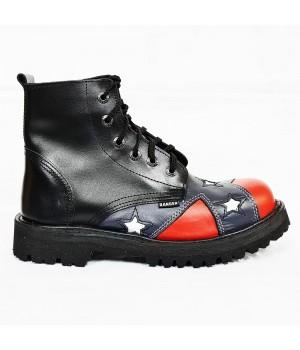 """Ботинки Ranger """"Black Confederation"""" 6 блочек"""