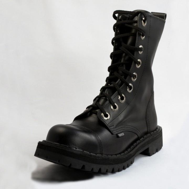 Ботинки Ranger черные 9 блочек (1120) (под заказ)