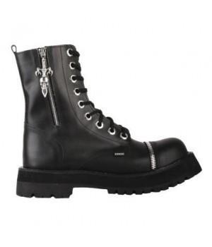 """Ботинки Ranger """"Black Zipper Skull"""" 9 блочек"""
