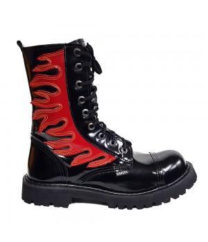 "Ботинки Ranger ""Black Varnish Fire"" 9 блочек"