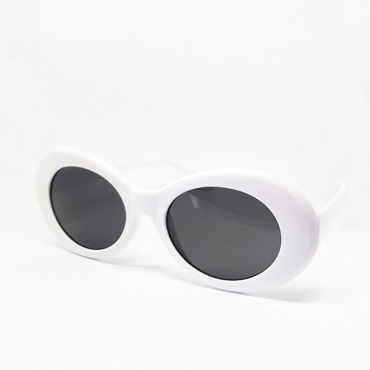 """Очки солнцезащитные """"Kurt Cobain (Курт Кобейн)"""" белые (8851)"""