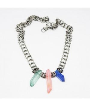 "Ожерелье ""Три кристалла"""
