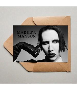 "Открытка ""Marilyn Manson"""