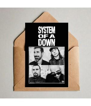 "Открытка ""System Of A Down"""