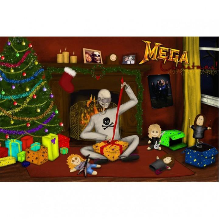 """Открытка """"Megadeth"""" (1957)"""