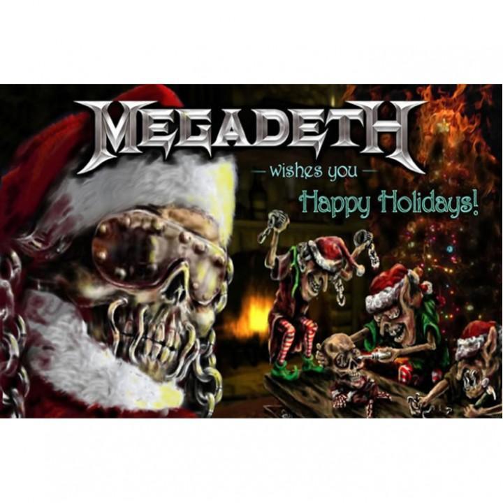 """Открытка """"Megadeth"""" (1960)"""