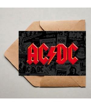 "Открытка ""AC/DC"""