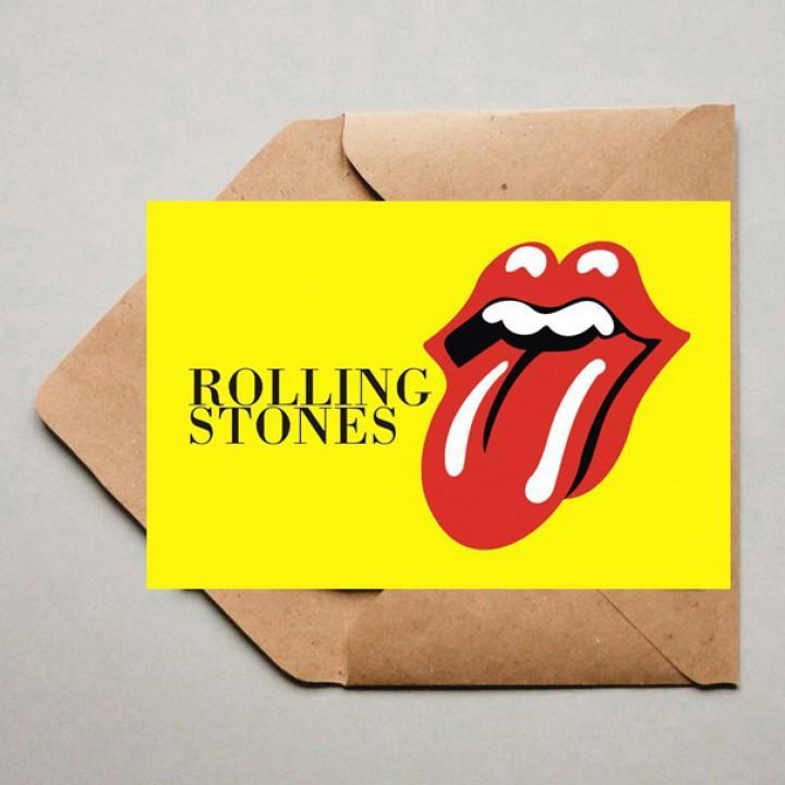 """Открытка """"The Rolling Stones"""" (1932)"""