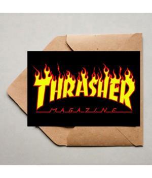 """Открытка """"Thrasher"""""""