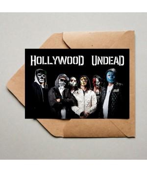 "Открытка ""Hollywood Undead"""
