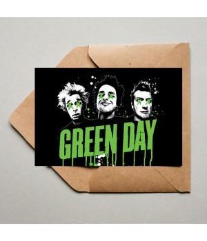"""Открытка """"Green Day"""""""