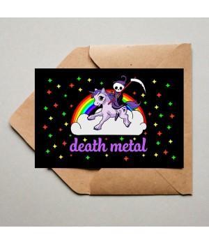 "Открытка ""Death Metal"""