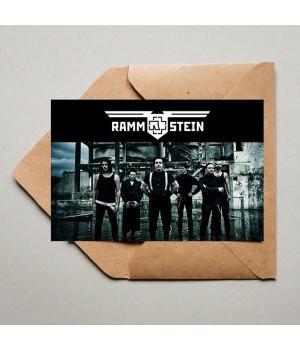 "Открытка ""Rammstein"""