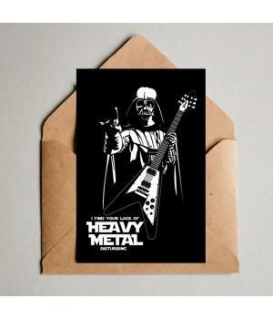 """Открытка """"Heavy Metal"""""""
