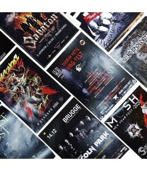 Афиши, плакаты (А4, А3) на Ваш концерт или мероприятие