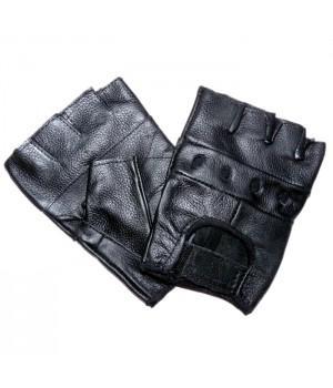 """Перчатки без пальцев кожаные мужские """"Sulehri"""""""