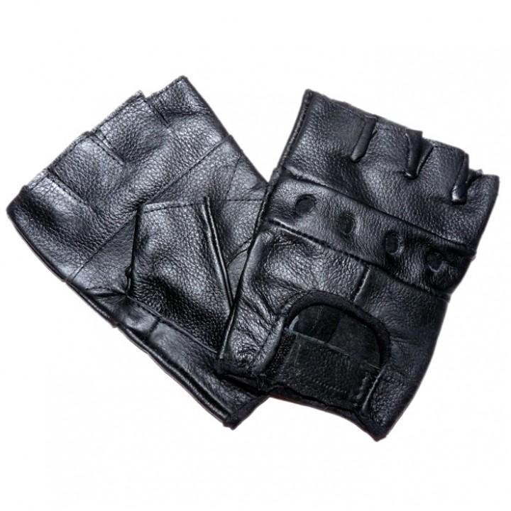 """Перчатки без пальцев кожаные мужские """"Sulehri"""" (1883)"""