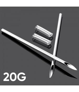 Игла для пирсинга 20G (0.8 мм)