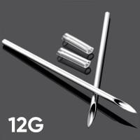 Игла для пирсинга 12G (2.0 мм)