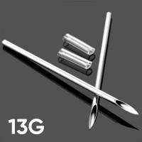 Игла для пирсинга 13G (1.8 мм)