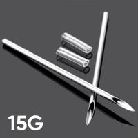 Игла для пирсинга 15G  (1.4 мм)