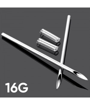 Игла для пирсинга 16G (1.2 мм)