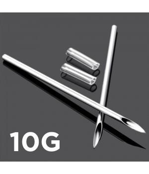 Игла для пирсинга 10G (2.5 мм)