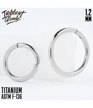 "Кольцо-кликер ""Implant Grade"" 1.2 мм титан"