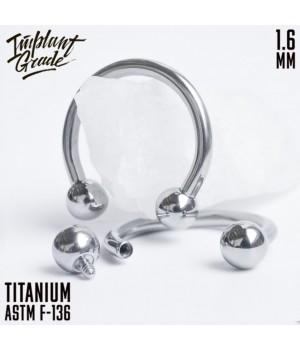 """Циркуляр шар """"Implant Grade"""" 1.6 мм титан"""