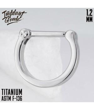 "Кольцо-кликер Arc ""Implant Grade"" 1.2 мм титан"