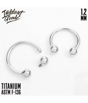 """Циркуляр шар """"Implant Grade"""" 1.2 мм титан"""