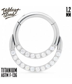 """Кольцо-кликер Duo AB """"Implant Grade"""" 1.2 мм титан"""