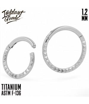 "Кольцо-кликер Geometry side ""Implant Grade"" 1.2 мм титан"