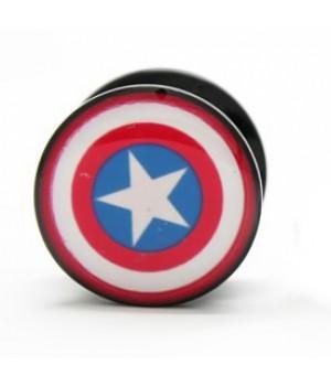 "Плаги из акрила ""Captain America (Капитан Америка)"""
