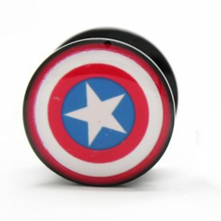 "Плаги из акрила ""Captain America (Капитан Америка)"" (1227)"