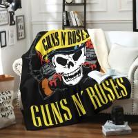"""Плед """"Guns N' Roses"""""""