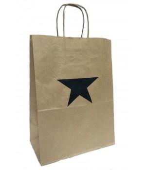 """Пакет бумажный подарочный """"Бастион"""" (26х35х15 см)"""