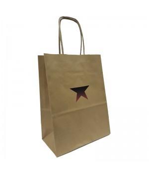"""Пакет бумажный подарочный """"Бастион"""" (15х20х8 см)"""